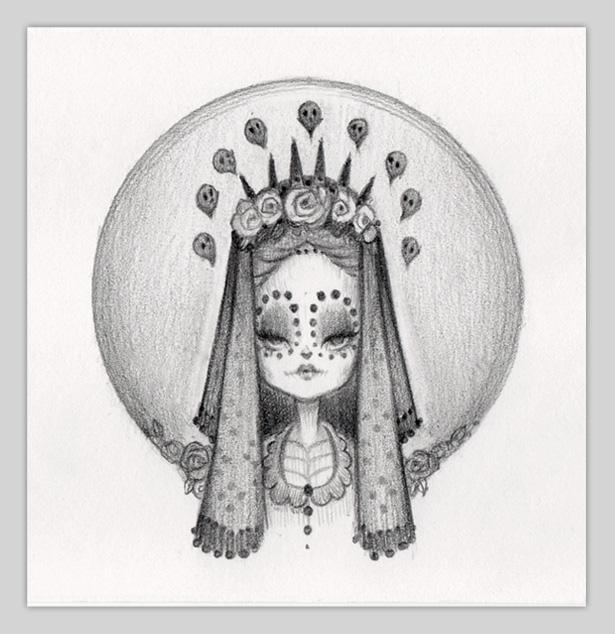 Little Bride Of Muerte